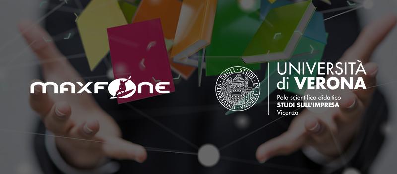Siglato nuovo accordo di collaborazione tra Maxfone e l'Università di Verona