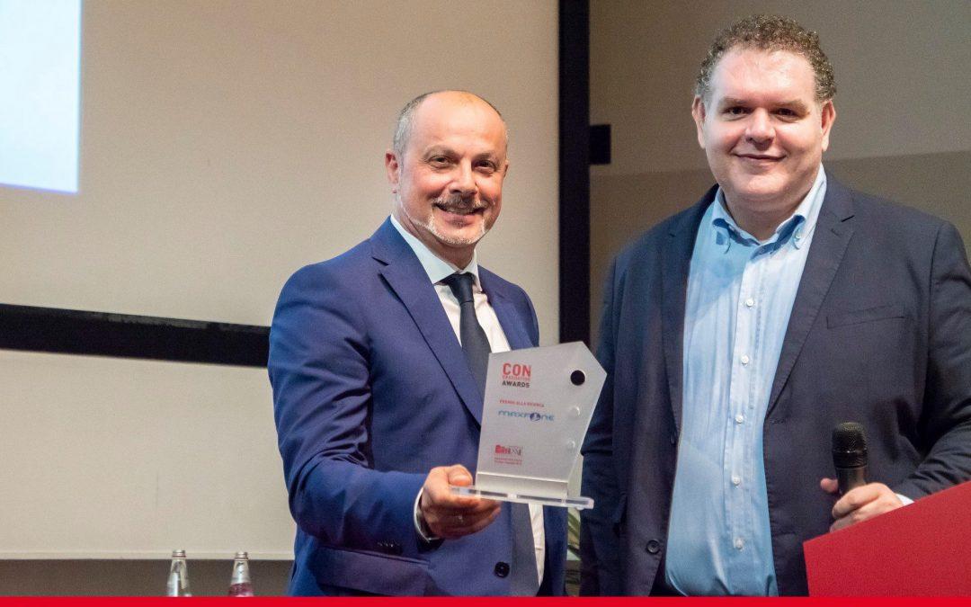 Paolo Errico insieme a Mariano Diotto ai Congradutation Awards